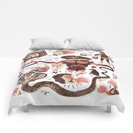 Crazy Travel Stories Comforters