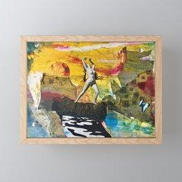 Dispensing Vicarious Thrills Framed Mini Art Print