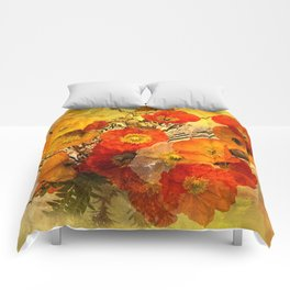 Poppy Expressions Comforters