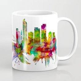 Denver Colorado Skyline Coffee Mug