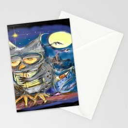 The lords of intelligence and wisdom Stationery Cards