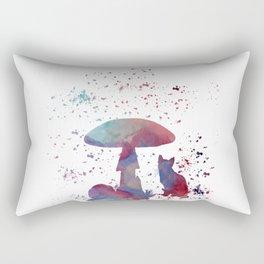 Whimsical cat Rectangular Pillow