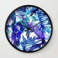 Vibe of the JUNGLE  {B-Blue} Wall Clock