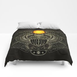 Sacred Scarab (v2) Comforters