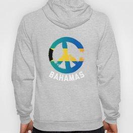 Bahamas Peace Sign Tee Hoody