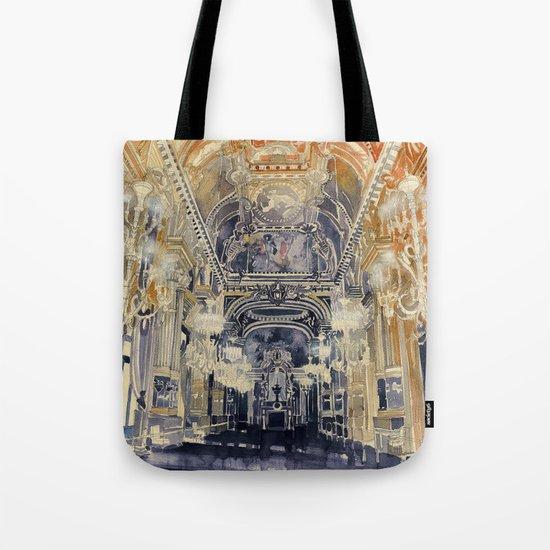 Opera de Paris Tote Bag