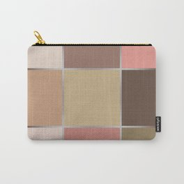 Squares , patchwork 5 Carry-All Pouch