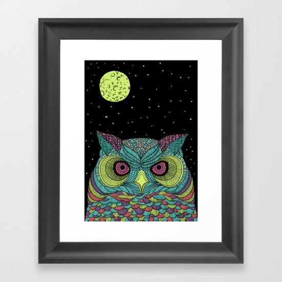 The Mystique Owl Framed Art Print