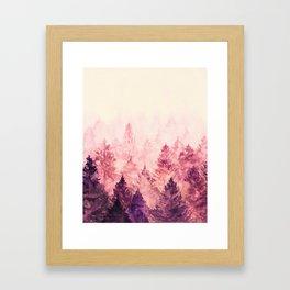 Fade Away III Framed Art Print