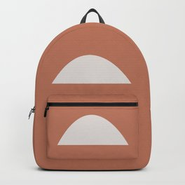 Wonky Arches | Terracotta Backpack