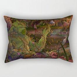 Ode to The Green Rectangular Pillow