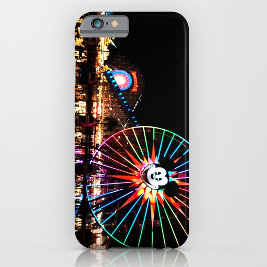 Paradise Pier at Night iPhone & iPod Case
