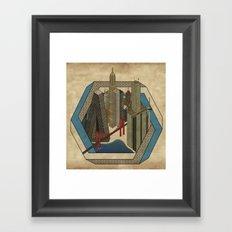 Impossibleville Framed Art Print