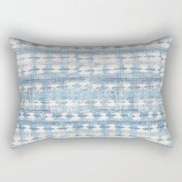 Rustic Indigo Rectangular Pillow