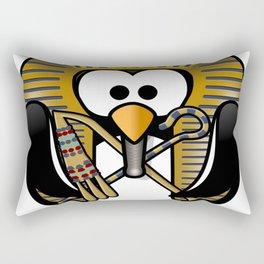 king tut tut tutankhamun tux Rectangular Pillow