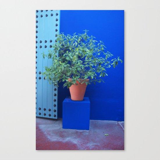 Maison Yves St Laurent Marrakech Canvas Print
