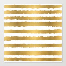Earning Her Stripes Canvas Print