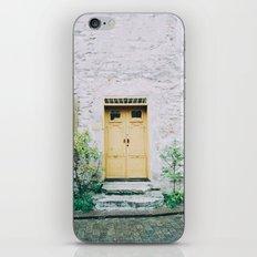 Visby Doorway iPhone & iPod Skin