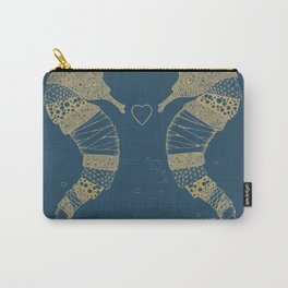 <3 of seahorses Carry-All Pouch