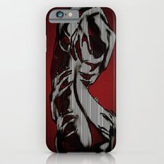 Scratch My Back I'll Scratch Yours (bright red and blk) iPhone 6s Slim Case