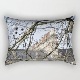 Traditional Chimney Line Rectangular Pillow