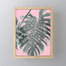Monstera Finesse #1 #tropical #decor #art #society6 Framed Mini Art Print