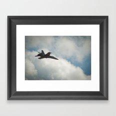 Swiss Airforce F-18 Hornet #2 Framed Art Print