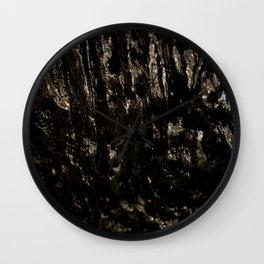 Slimy Wood Wall Clock