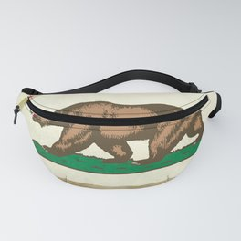 Vintage California Flag Fanny Pack
