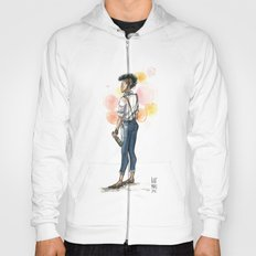 Androgypunk by Kat Mills Hoody