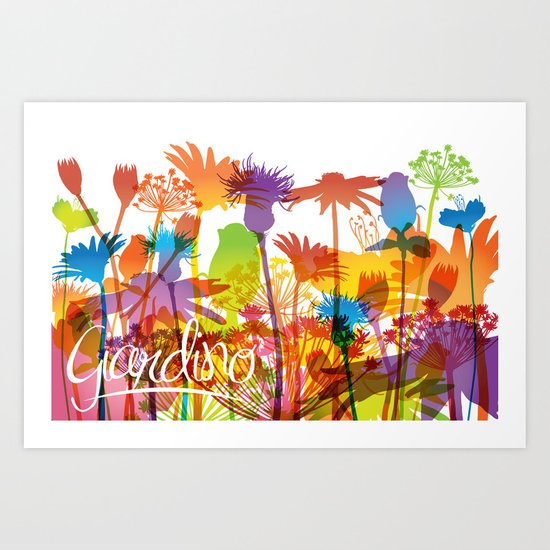 Giardino Art Print