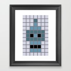 Bender Was Here Framed Art Print