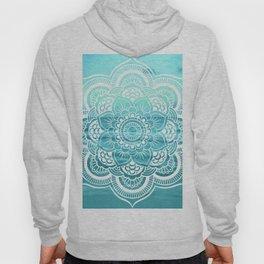 Mandala : Aqua Sunset Waters Hoody