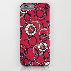 Honolulu hoopla red Slim Case iPhone 6s