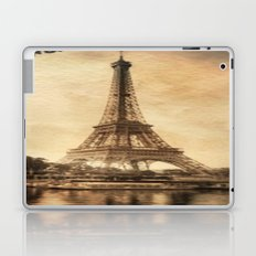 Vintage Eiffel Tower 2 Laptop & iPad Skin