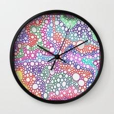 Bubbles 7 Wall Clock