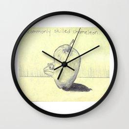 Skilled Chameleon Wall Clock