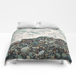 A Beautiful Spring Day at the Beach IV Comforters