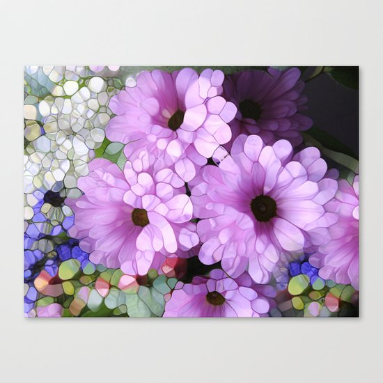 Daisies from the Galaxy Canvas Print