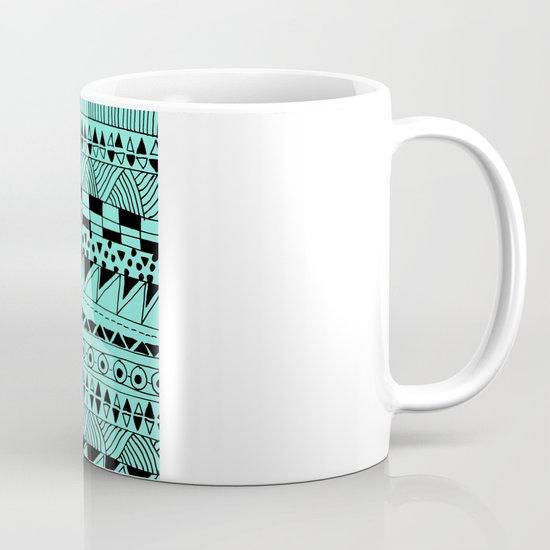 Fun - Black and Mint Mug