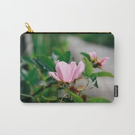 Wildflower: Rose Carry-All Pouch