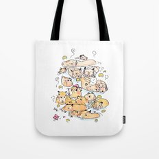 Wild family series - Capybara Tote Bag