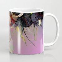archan nair Mugs featuring Orynkro by Archan Nair