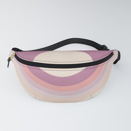 Lilac Rainbow Canyon Fanny Pack