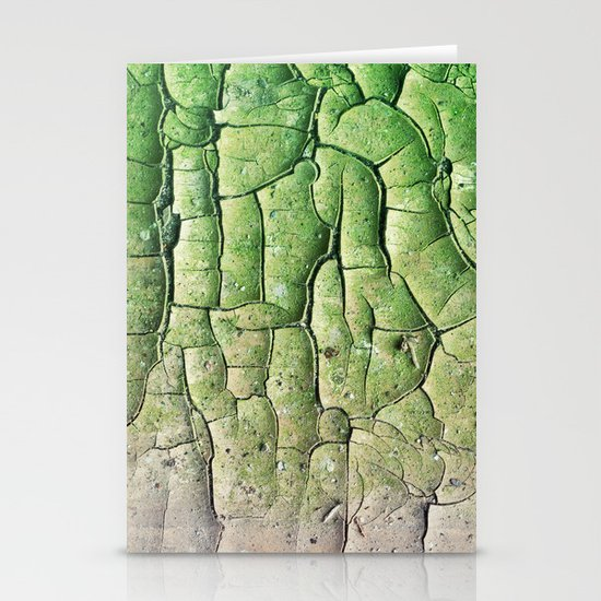 Peeling Green Stationery Cards