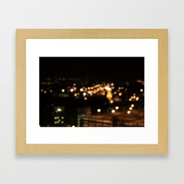 Pure Gold Framed Art Print