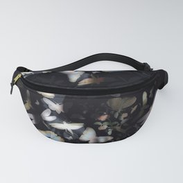 Butterfly And Skull Fanny Pack