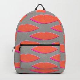 Lips pattern Backpack