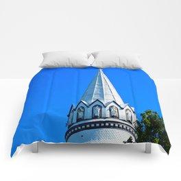 Church Steeple Statues Comforters