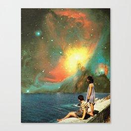 Señal y ruido Canvas Print
